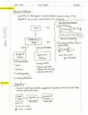Modeling Methods review notes