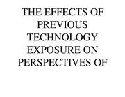 Presentation on the Effect of Technology on Parenting