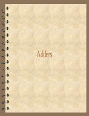 Adders-1.ppt