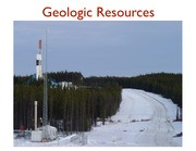 lecture 26 Geologic Resources F14