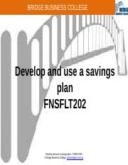 Develop and use a savings plan.pptx