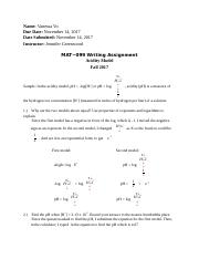 Math099 Wrtting Assignment.docx