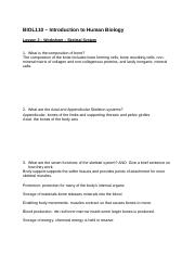 Human Biology BIOL 110 DLB FALL 2014 Worksheet 3 complete.docx