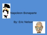 Napoleon Bonaparte Speech 2 visual