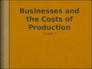 Chapter9-micro Cost of Production.pptx