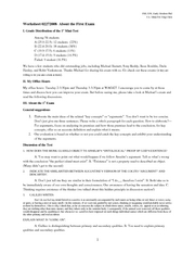 Worksheet 0227-1st Exam