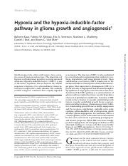 hypoxia pathway review gbm.pdf