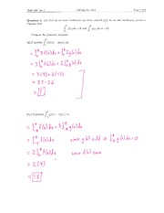 Math 224 Midterm 1 f11 Solutions