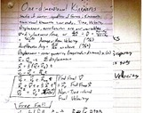 Lecture Notes on Kinematics