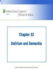 PPT_Chapter_33_Delirium and Dementia_Stud copy.ppt