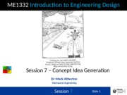 Session 7 - Concept Idea Generation