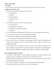 Study Guide for Chapter 2