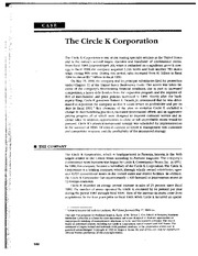 The Circle K Corporation