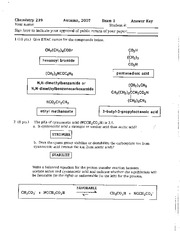 CHEM 239 exam_answers_Exam_1_key
