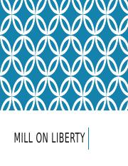 Lecture 8 - Mill on Liberty.pptx