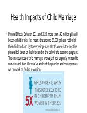 Health Impacts of Child Marriage.pptx