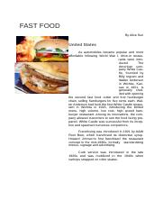 AliceSun-FastFood.docx