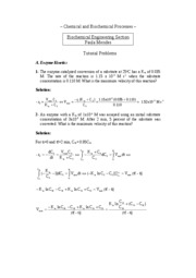 Problems for Biochemical Engineering-CBP_Solution-1