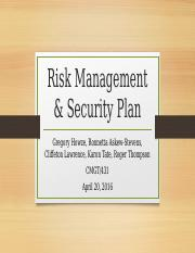 Risk Management & Security Plan.pptx