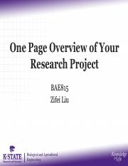 BAE815_Liu_07 One page overview of your research project.pdf