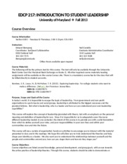 EDCP 217 Syllabus [fall 2013]