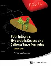 Path Integrals and Hyperbolic Spaces [Grosche].pdf