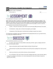 2.2.9 Practice  Complete Your Assignment eng.docx