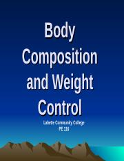 6- Body Composition INTR 2013.ppt
