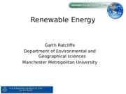 renewables lecture - garth