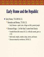 World Civ 1 Unit2 PP3 Founding of Rome.ppt