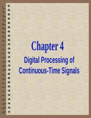 Chapter-4-Digital Processing of Continuous-Time Signals.ppt