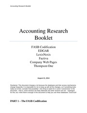 Accounting Search Booklet Fall 2014