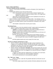 Exam 3 Study Guide Parts 1 and 2