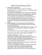 Romeo and Juliet Essay Outline (Magee).docx