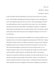 Brett J Lee MGMT332 Case Study #1.docx