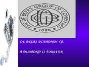De Beers Diamonds Slides