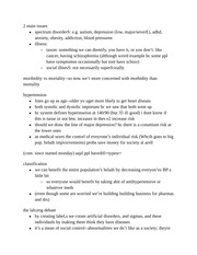 Medical Sociology Notes Part 1