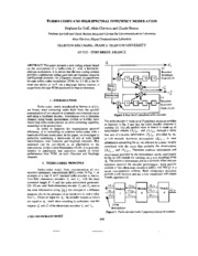 TURBO-CODES AND HIGH SPECTRAL EFFICIENCY MODULATION