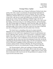 Foreign Policy Update Assessment Andre Timmons FINAL.docx