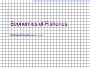 grad fisheries basics
