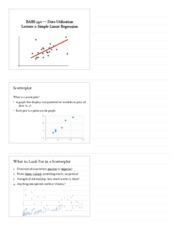Class 2- Simple Linear Regression