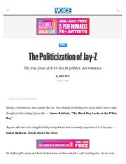 The Politicization of Jay-Z.pdf