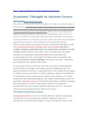 Ancient Greek Economic Thought.docx