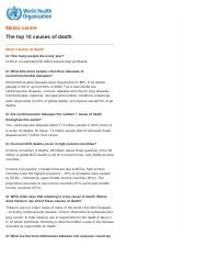 j3WHO  Major causes of death.pdf