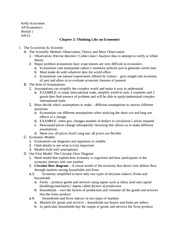 ap econ - chapter 2 outline