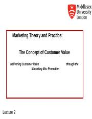 MKT1120 Lecture 2 New Customer Value.ppt