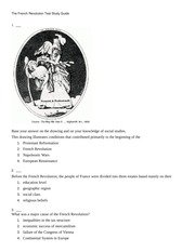 The French Revolution Test Study Guide-4