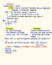 Demand for human resources notes