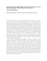 introduction of the Macroeconomics of Fiscal policy.pdf