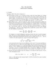 phys 369 09 hw 7 Solutions